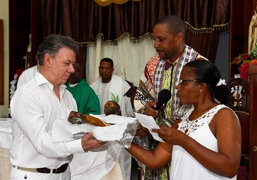 El pueblo que rescató a Juan ManuelSantos