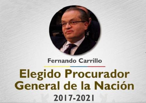 """""""La Procuraduría no será vocera de radicalismos ni de persecuciones políticas"""", FernandoCarrillo"""