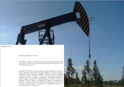 Corte media en caso que enfrentó a empresa petrolera e indígenas delPutumayo