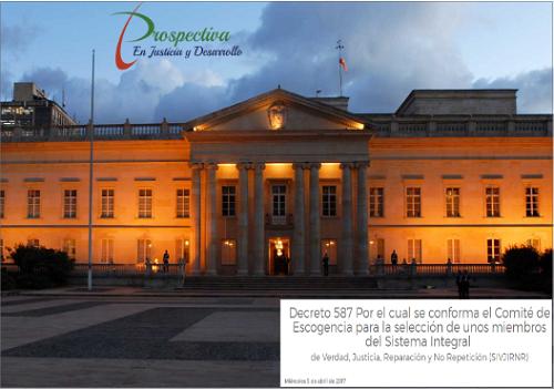 Guía de estudio sobre el decreto que dispone las funciones del Comité de Escogencia de miembros de laJEP