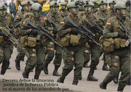 Conozca el 'derrotero' para la suspensión de órdenes de captura y medidas de aseguramiento de miembros de la FuerzaPública