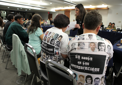 Colombia logra reducir el número de víctimas de desapariciónforzada