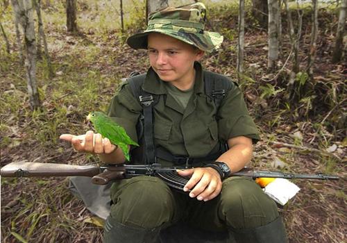 El conflicto colombiano dejó 16.879 niños víctimas por reclutamientoforzado