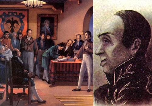 José Miguel Pey, el primer gobernante deColombia