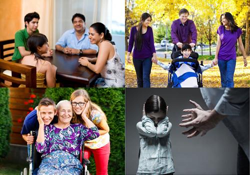 La violencia intrafamiliar debe ser erradicada para que la familia viva de formadigna